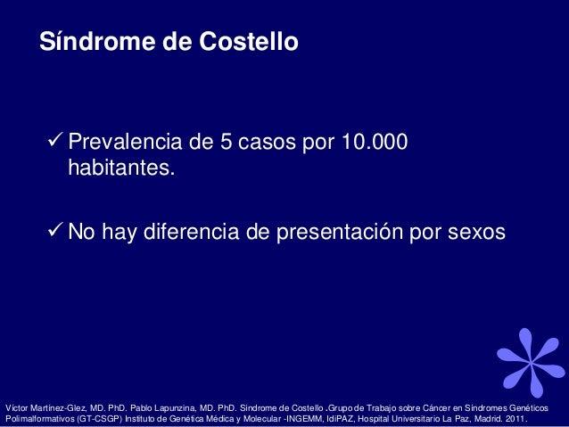 Sindrome de costelo Slide 3