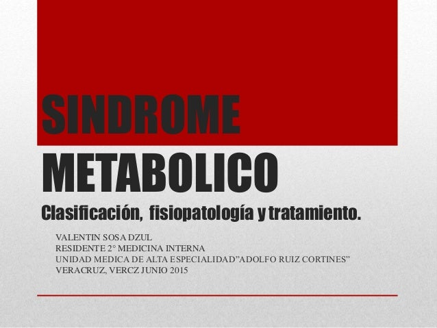 Sindrome metabòlico
