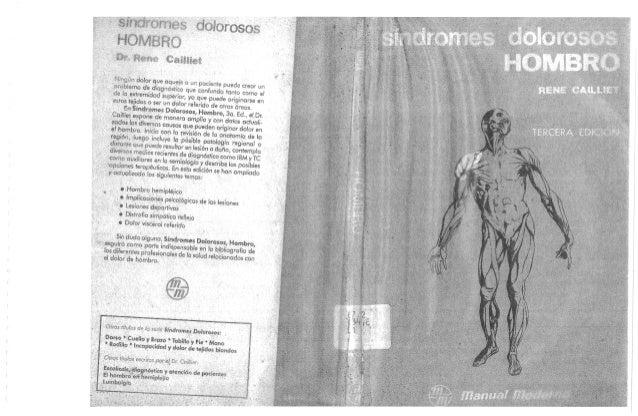 Sindromes dolorosos hombro