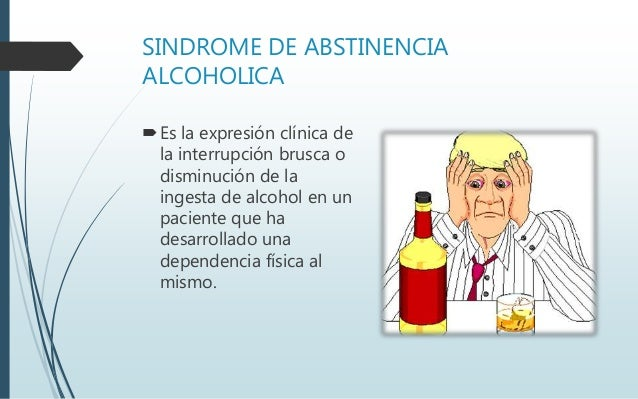 La dependencia alcohólica forzadamente