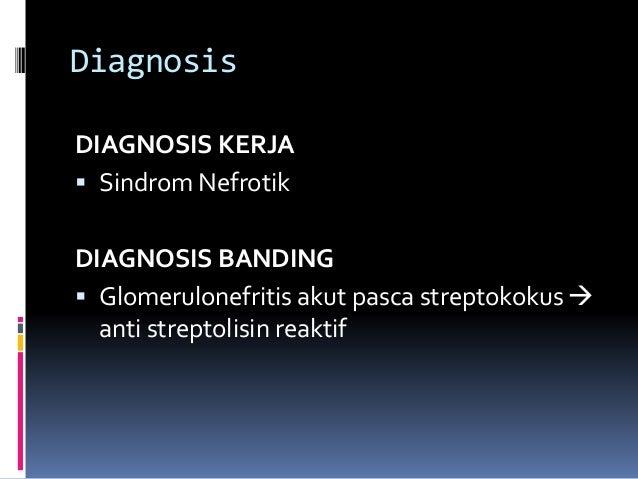 Diet Pada Nefrotik Sindroma