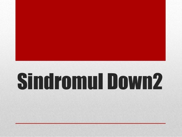 Sindromul Down2