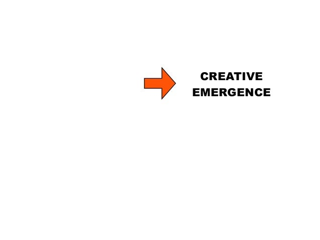 INNOVATION IT IS THE SOURCE OF INNOVATION CREATIVE EMERGENCE