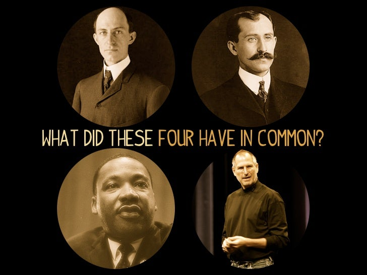 What did these four have in common?