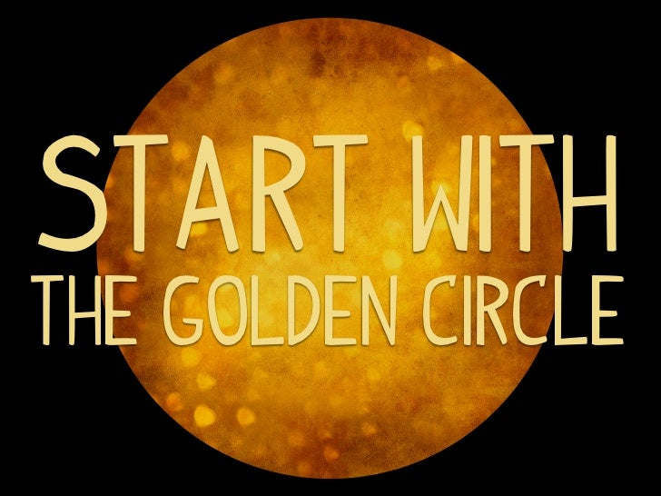 Start withthe golden circle