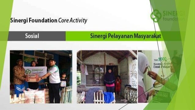TENTANG SINERGI PELAYANAN MASYARAKAT Sinergi Pelayanan Masyarakat - Sinergi Foundation merupakan program karitatif yang di...