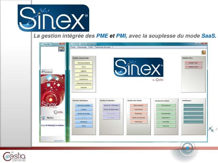La gestionintégréedes PME et PMI, avec la souplesse du mode SaaS.<br />