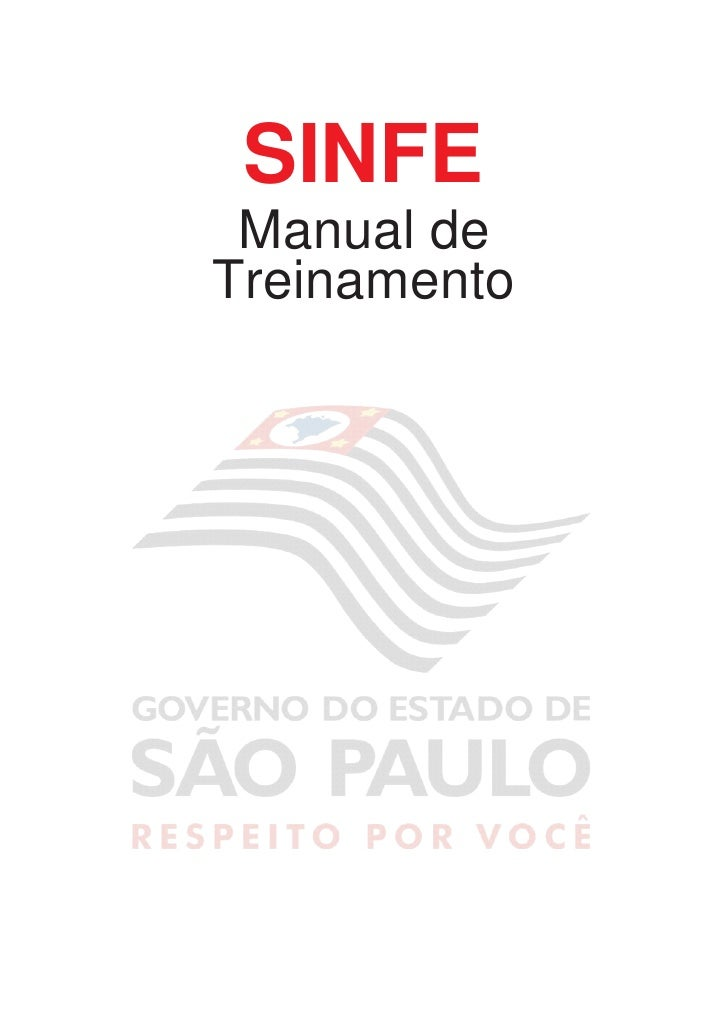 Sinfe Manual do Usuario
