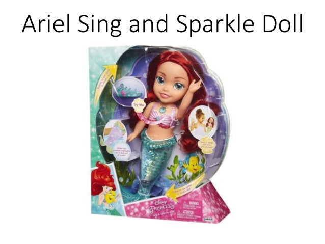 Ariel Sing and Sparkle Doll