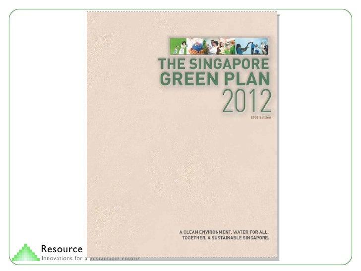 Singapore Green Plan Slide 2