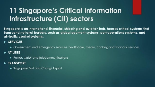 Singapore  industry 4 0 and cybersecurity