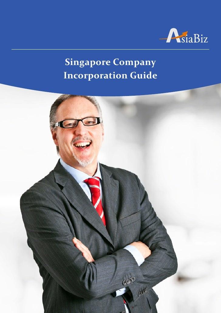 Singapore CompanyIncorporation Guide