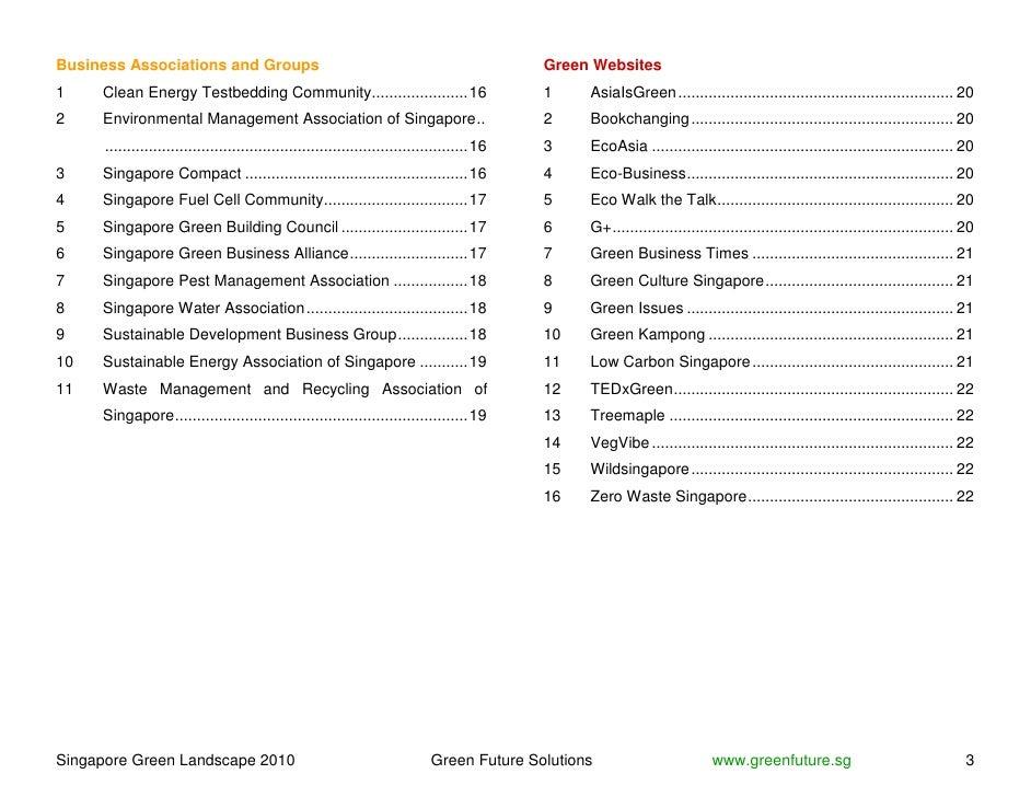 Business Associations and Groups                                                              Green Websites 1    Clean En...