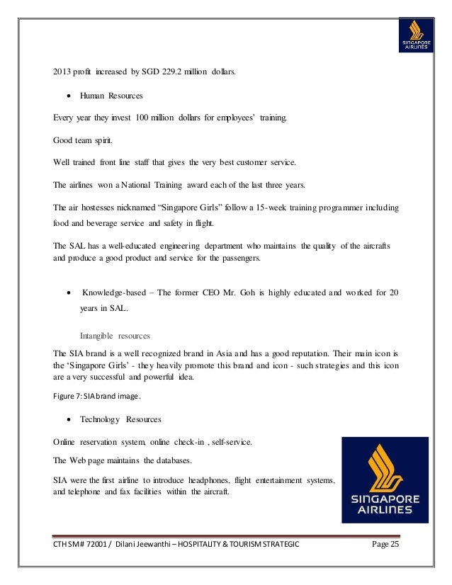 singapore airlines swot analysis essays