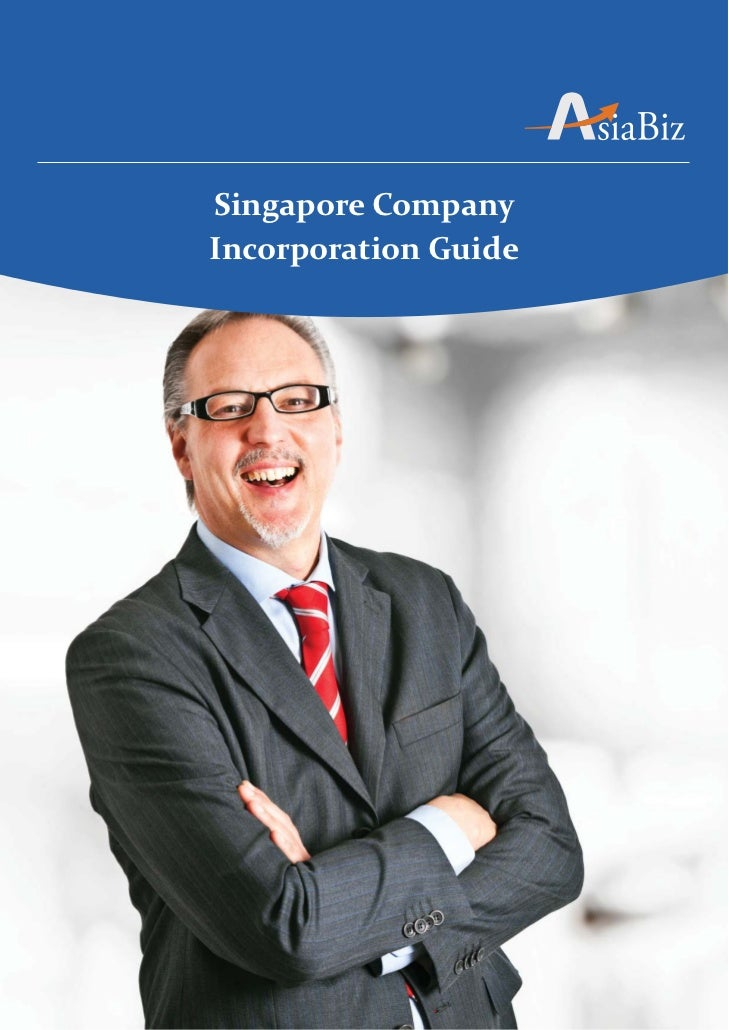 Singapore CompanyIncorporation Guide