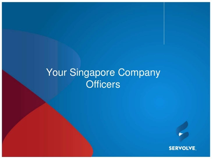 Your Singapore Company        Officers