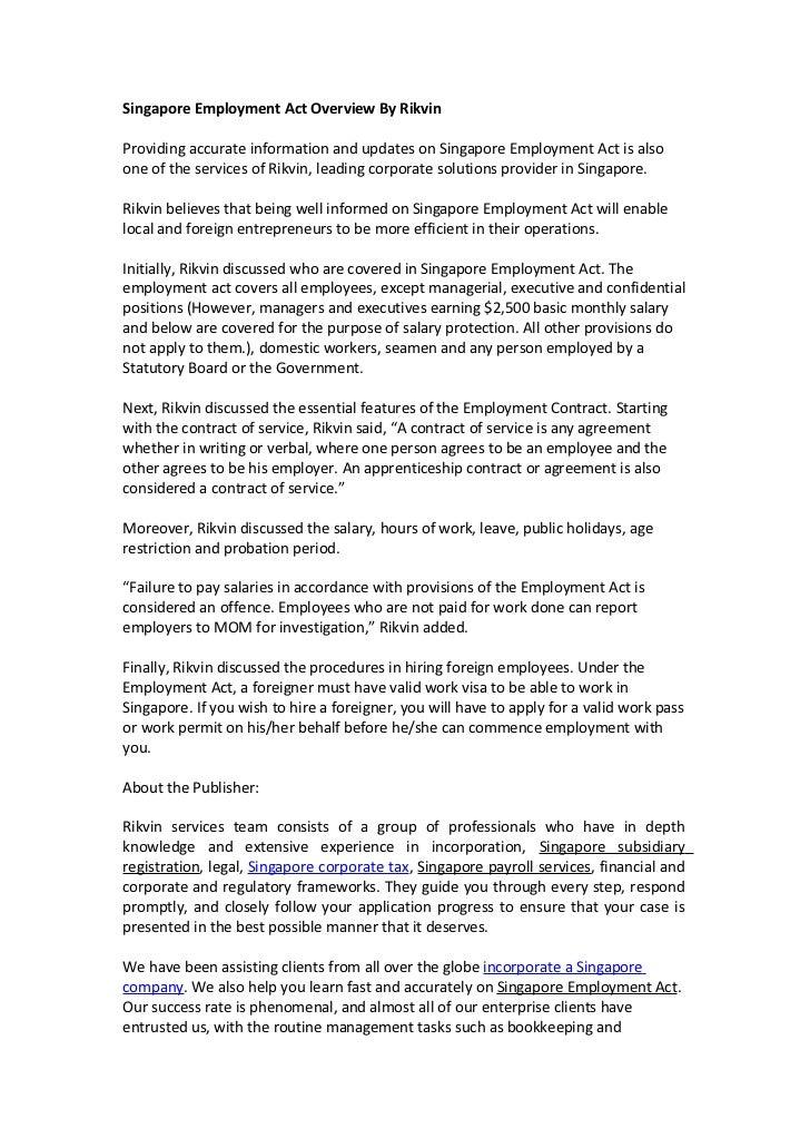 SingaporeEmploymentActOverviewByRikvinJpgCb