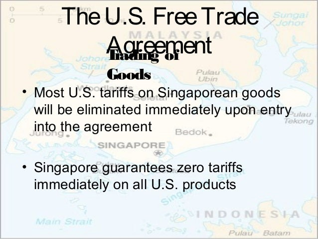 Singapore Free Trade Agreements