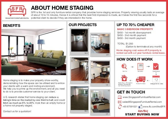 ... FURNITURE RENTAL; 3. Home Staging ...