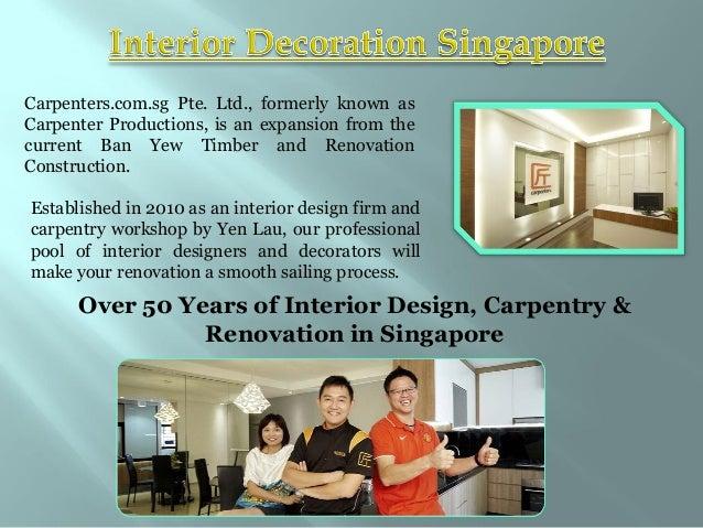 Singapore interior design Slide 2