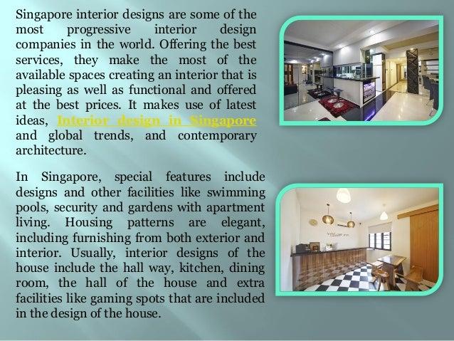 Singapore interior design Slide 3