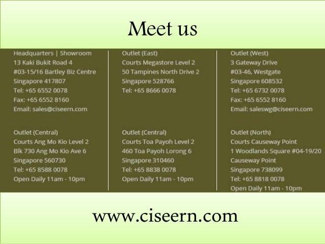 ` www.ciseern.com Meet us