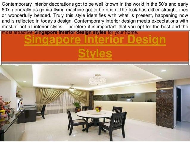 Singapore interior design styles for Interior design styles singapore