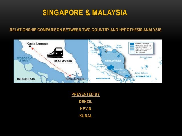business relationship between malaysia and singapore