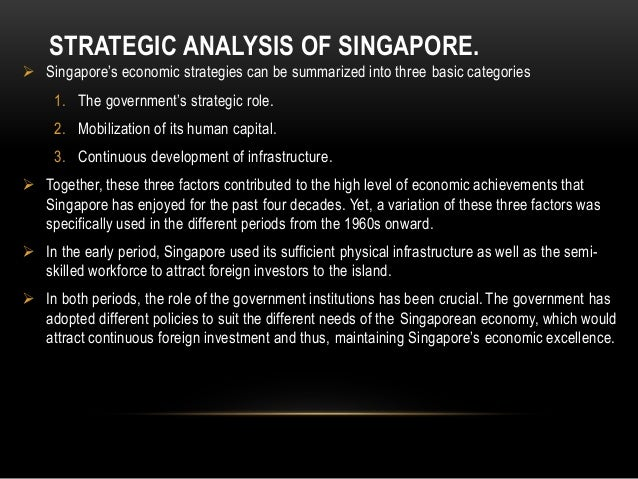 economic analysis of singapore and jamaica Growth is expected to continue in 2018, thanks to more vigorous domestic demand and more favourable economic conditions in the united states, despite the jamaican government's fiscal.