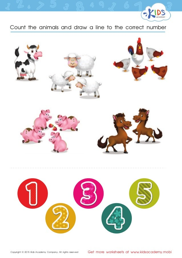 FREE Singapore math worksheets for Preschool and Kindergarten. Copyright © 2015 Kids Academy Company. All rights reserved Get more worksheets at .