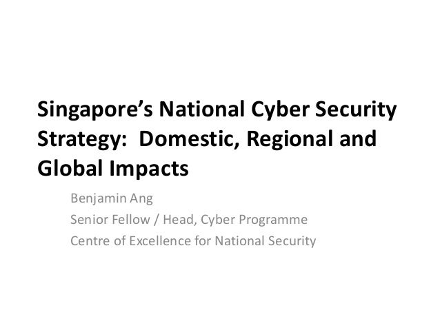 Singapore's National Cyber Security Strategy