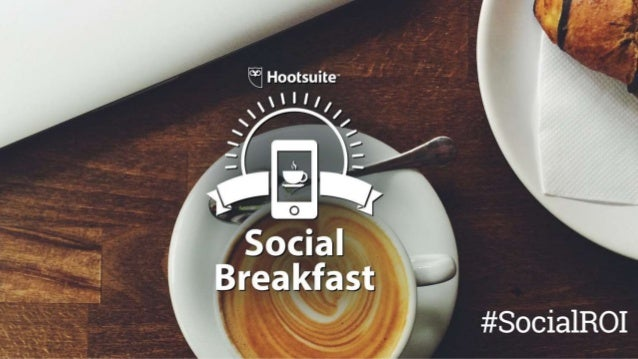The Digital Champion Breakfast: How to Prove Social ROI