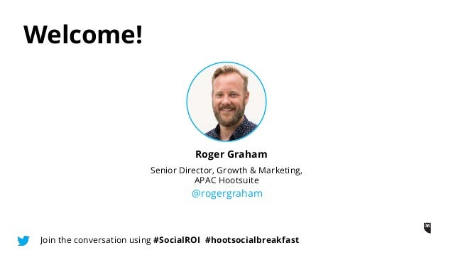 The Digital Champion Breakfast: How to Prove Social ROI Slide 2