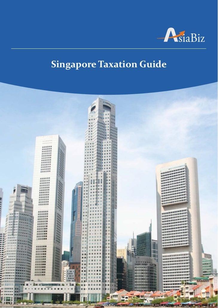 Singapore Taxation Guide