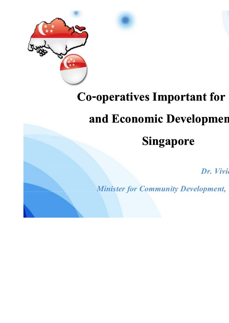 Co-Co-operatives Important for Social and Economic Development of           Singapore                                     ...