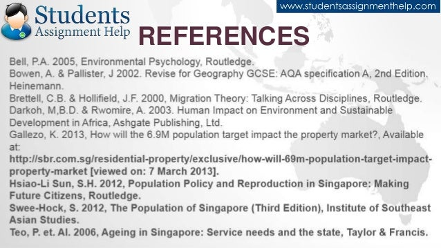 a sustainable population for a dynamic singapore essay Aging population essay  overview of aging population in singapore populations in many developed countries  sustainable development and population control.