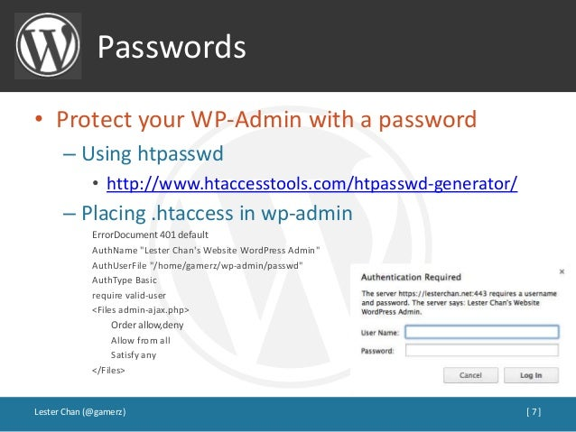 Click on the wp-admin folder in the left hand directory tree. Right click  on the .htaccess file in the wp-admin folder, select the Edit link to open  a new ...
