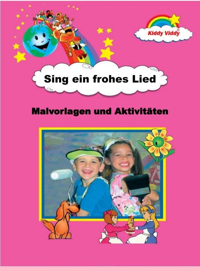 © Malvorlagen und Aktivitäten Sing ein frohes Lied