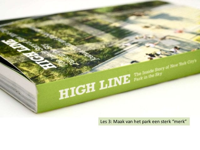 """Les 3: Maak van het park een sterk """"merk"""""""
