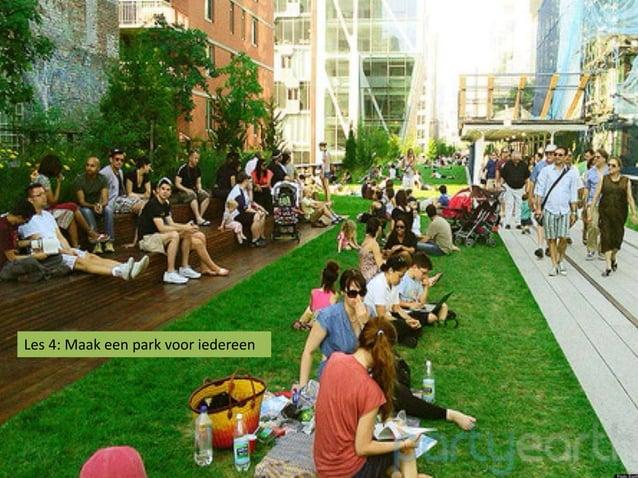 Les 4: Maak een park voor iedereen