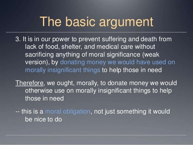 essay peter singer famine affluence morality Famine, Affluence, and Morality by Peter Singer