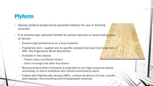 High Density Overlay Plywood ~ All you need to know about construction formwork