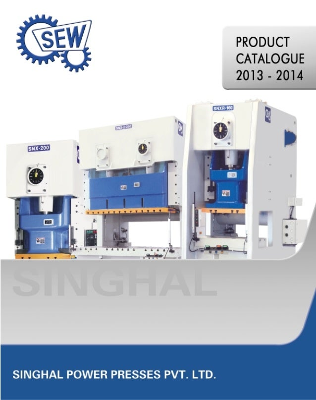 Singhal Power Presses Pvt. Ltd. is the flagship company of the INR 600 Million I.S. Chawla Group of Engineering  Companies...