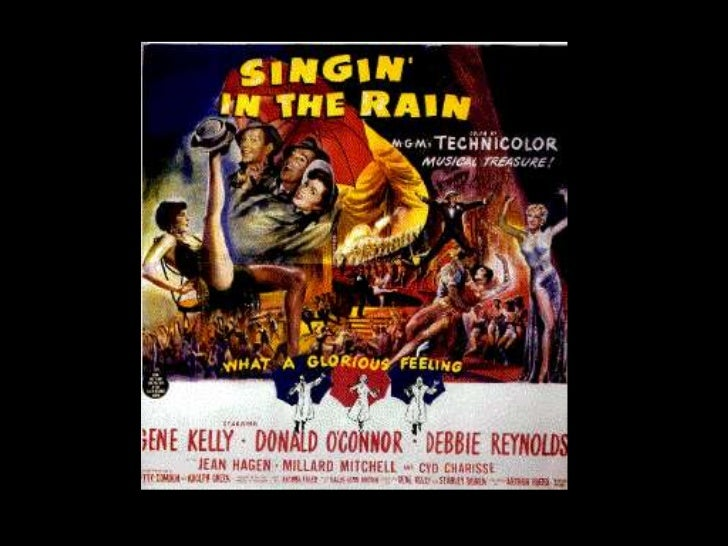analysis of singin in the rain I'm singing in the rain just singing in the rain what a glorious feelin' i'm soundtracks:  singin' in the rain lyrics - gene kelly.