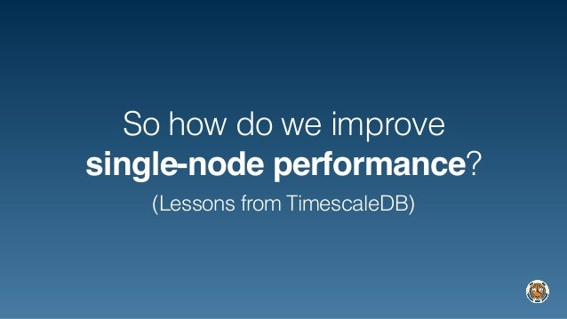 Databases Have Forgotten About Single Node Performance, A Wrongheaded…