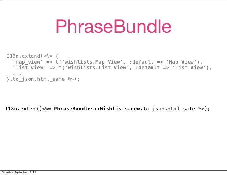 PhraseBundle   I18n.extend(<%= {     map_view => t(wishlists.Map View, :default => Map View),     list_view => t(wishlists...