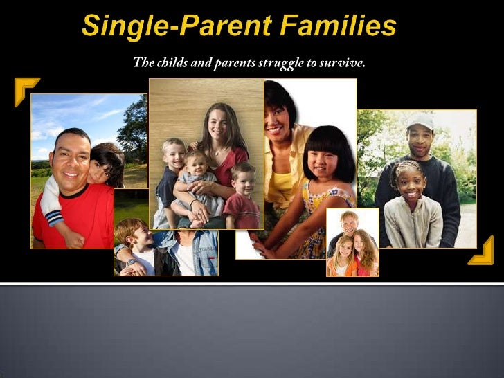 single parent families Single-parent families are families with children under age 18 headed by a parent who is widowed or divorced and not remarried, or by a parent who has never.