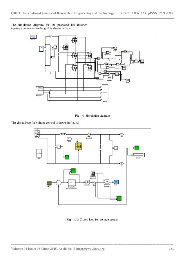 Single Phase H6 Transformerless Inverter With A Simple