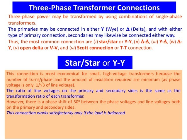Single and 3 phase transformer