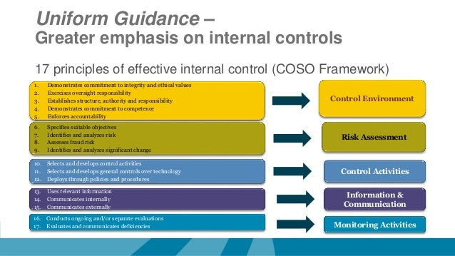 significant regulations and guidelines related to audits of internal control Internal control and internal audit the most significant problems encountered in internal audit institutions guidelines for internal control.